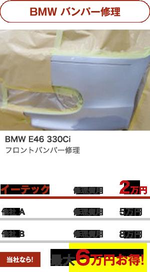 BMW バンパー修理